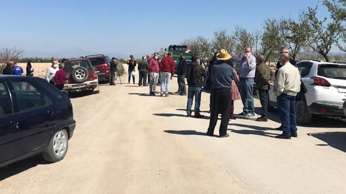 Los agricultores temen quedarse sin su medio de vida