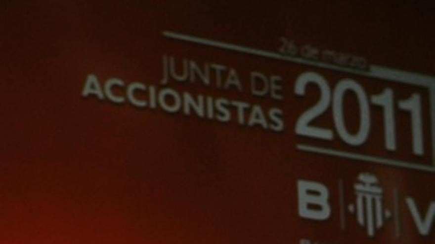 José Luis Olvias en la Junta de Banco de Valencia