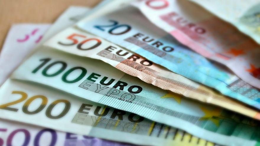 Billetes de euro. (Canarias Ahora).