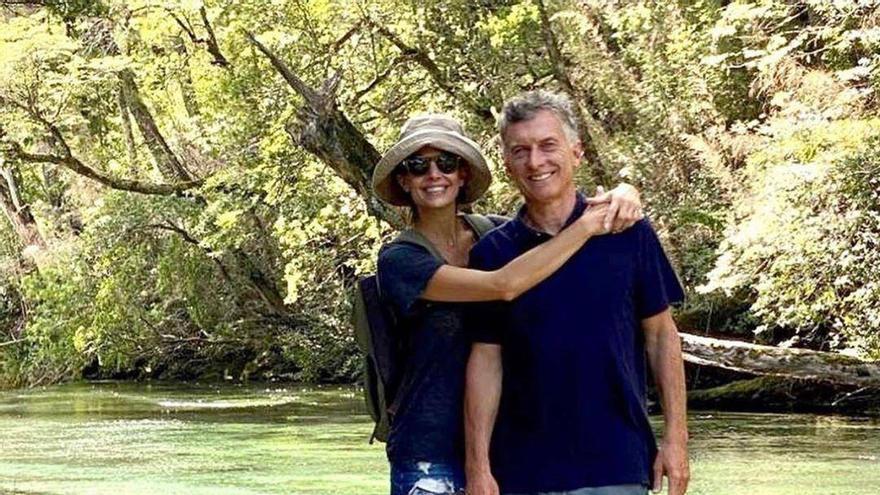 Mauricio Macri y su esposa Juliana Awada