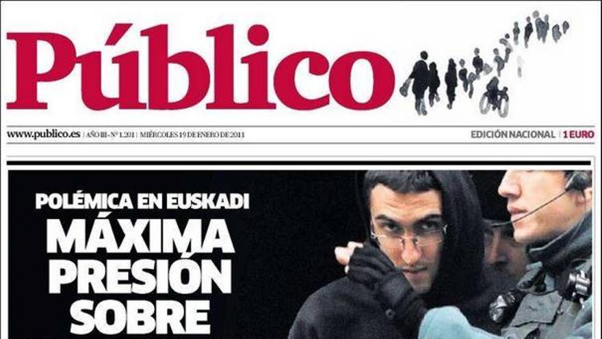 De las portadas del día (19/01/11) #8