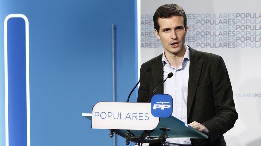 Casado (PP) espera que no se facilite el Gobierno a Díaz en Andalucía y se vote en contra