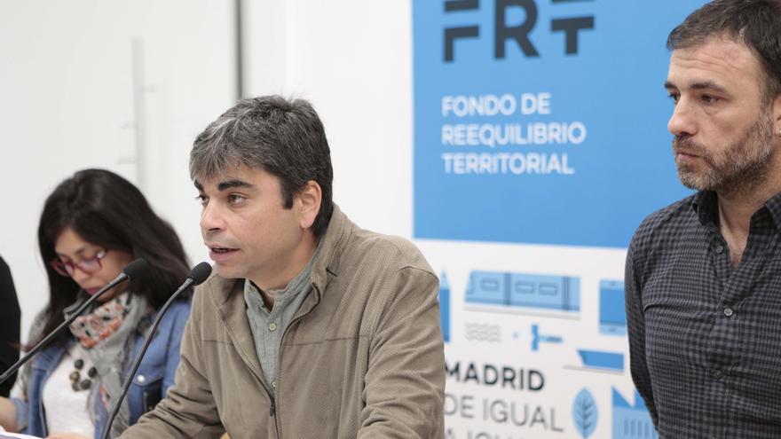 """Sustituto de Sánez Mato dice que no renuncian ni al """"debate político ni a movilización social"""" con la aprobación del PEF"""