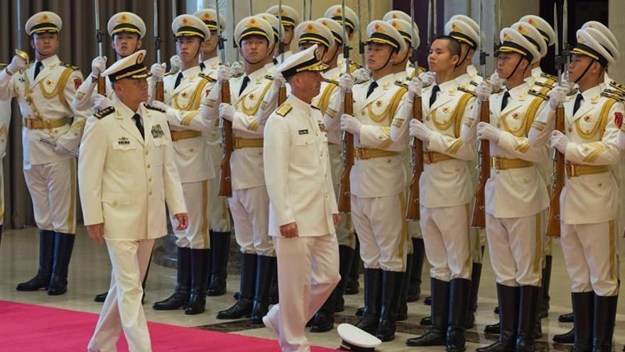 Los Jefes de las Armadas de China y EEUU se reúnen en Pekín para reducir tensiones