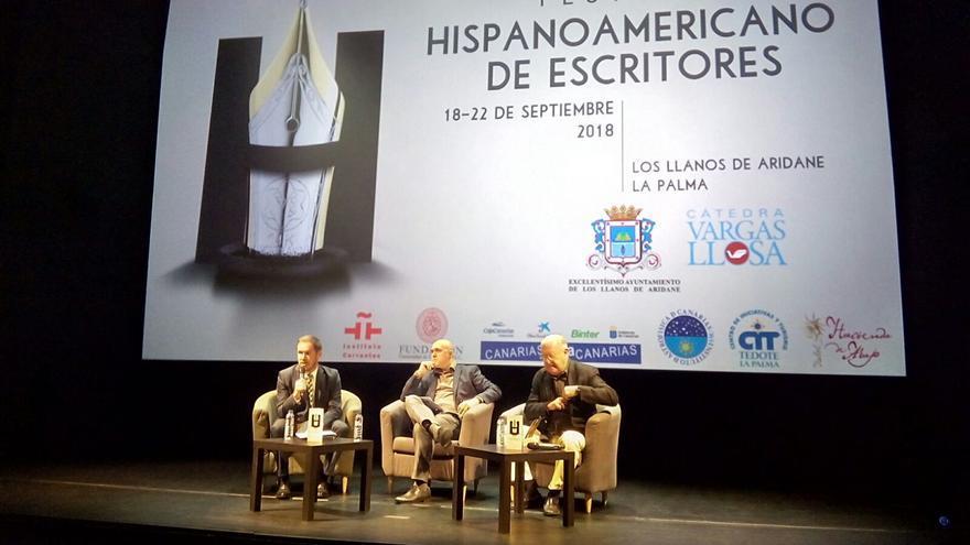 En la imagen, Mariano Hernández (i), Nicolás Melini y Armas Marcelo.