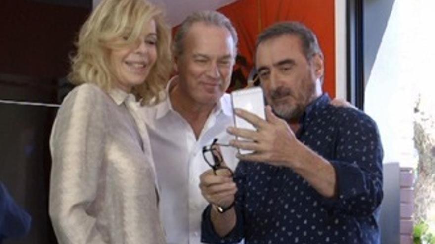 Bibiana Fernández y Carlos Herrera, juntos en TVE, 25 años después de 'Sábado Noche'