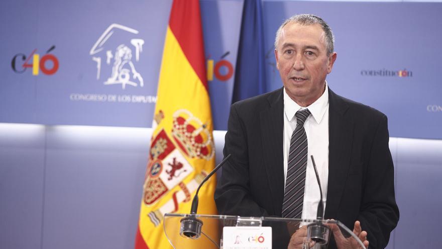 """Baldoví no cederá """"ni un centímetro"""" en sus exigencias al PSOE y le aconseja """"rebajar ese tono de superioridad"""""""