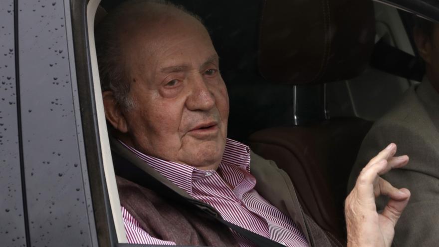 El paradero de don Juan Carlos, una incógnita durante 15 días