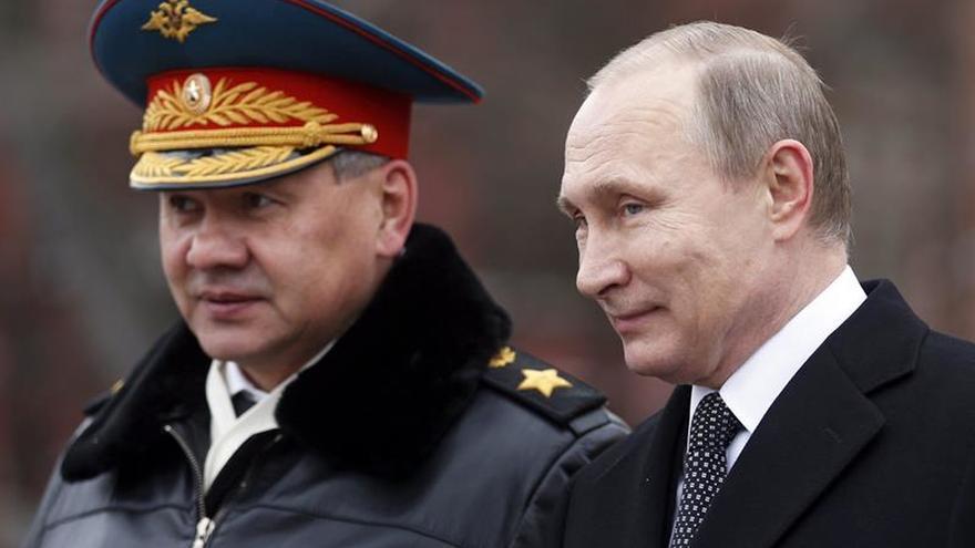 Damasco gana terreno a los yihadistas, según el ministro de Defensa de Rusia