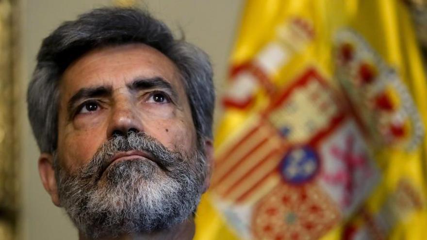 El presidente del Tribunal Supremo y del Consejo General del Poder Judicial, Carlos Lemes.
