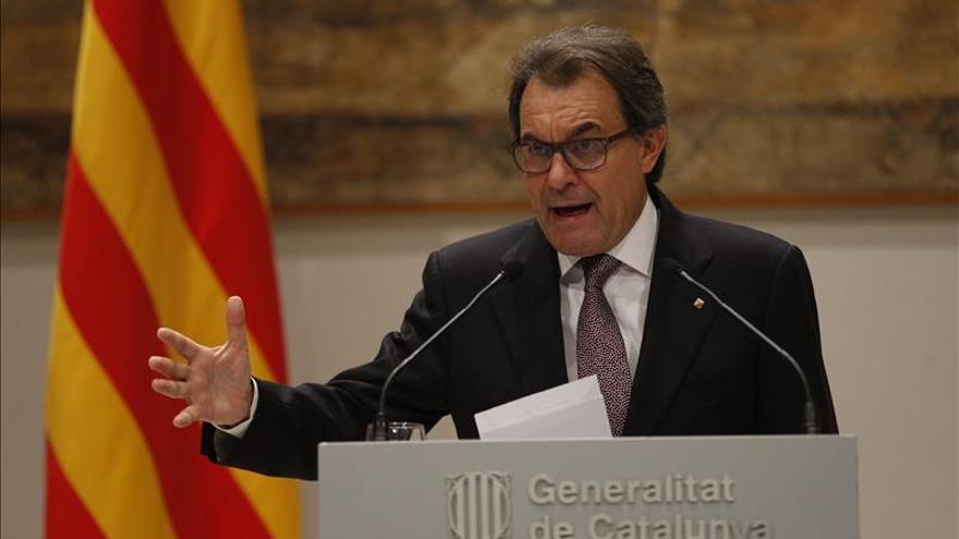 Artur Mas dice que el Gobierno español es el adversario de Cataluña