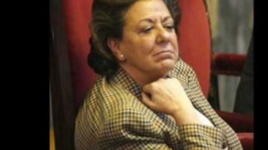Captura del vídeo de la broma telefónica a Rita Barberá