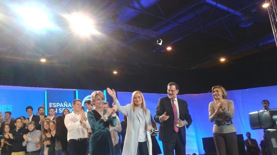 """Rajoy cierra campaña alertando contra una coalición de PSOE, Podemos y """"el que se quieran apuntar"""" para echar al PP"""