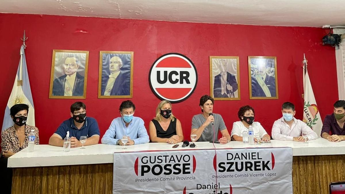 Con el apoyo de Lousteau, Posse cerrará mañana su campaña en la interna radical de Provincia