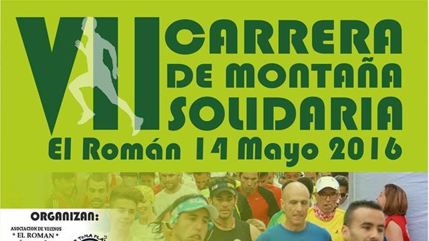 La VII Carrera de Montaña Solidaria El Román.