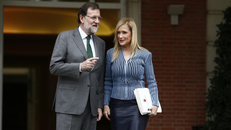 Rajoy asiste a los actos del 2 de mayo que organiza Cifuentes por el Día de la Comunidad de Madrid