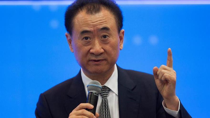"""Wang Jianlin: """"esperamos el permiso escrito"""" para demoler el Edificio España"""