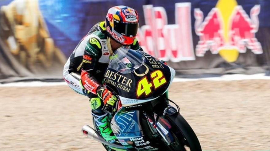 Marcos Ramírez tampoco remonta en el Gran Premio de Moto 3.