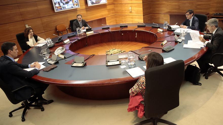 Reunión del Consejo de Ministros extraordinario.
