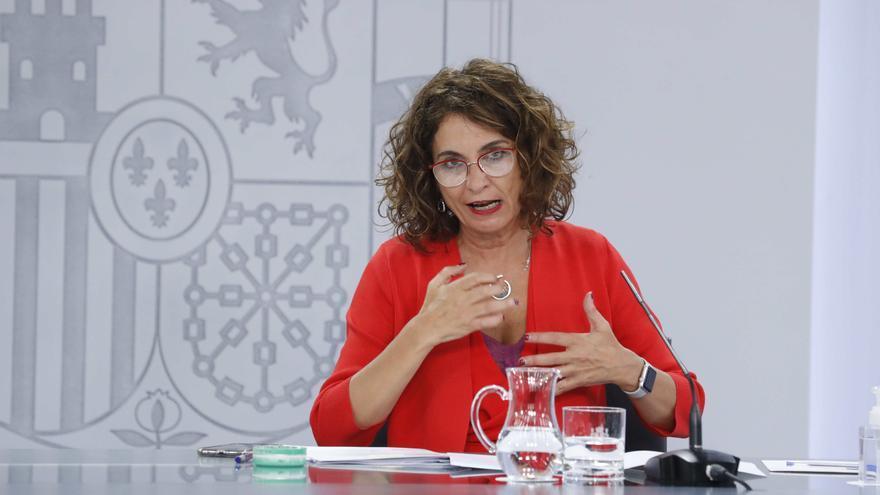 La ministra de Hacienda y ministra portavoz, María Jesús Montero. EFE/Zipi/Archivo