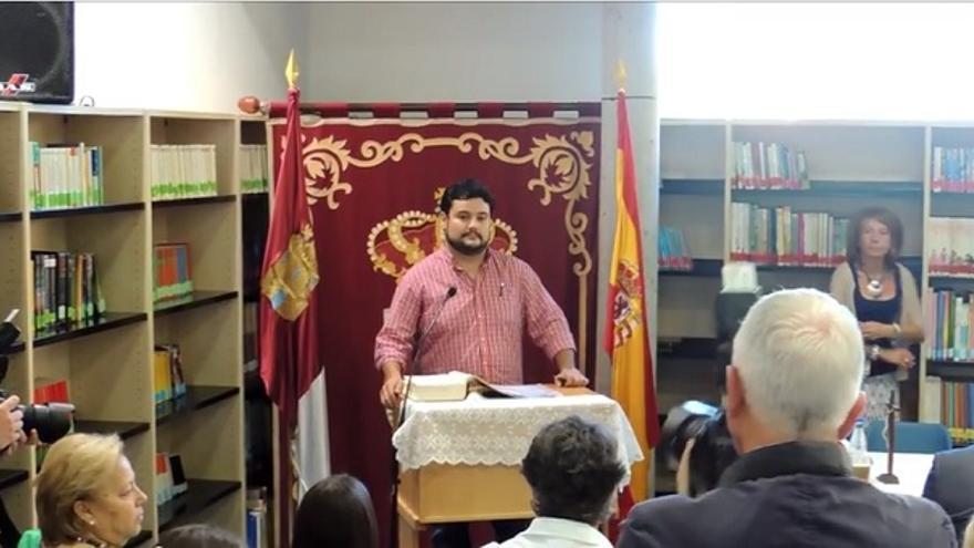 Alberto López, concejal de IU en Argés (Toledo)