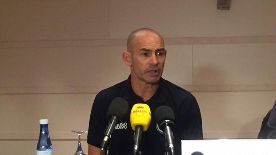 Paco Jémez, entrenador de la Unión Deportiva Las Palmas