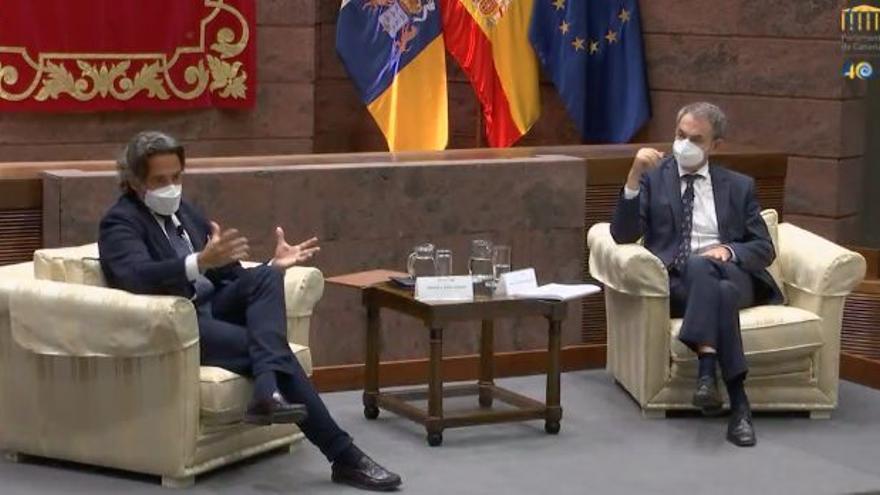 Sigue en directo el #ForoParlamento con José Luis Rodríguez Zapatero