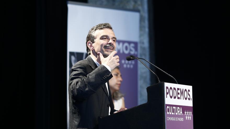 """López (Podemos) asegura que están """"muy contentos"""" y que """"el cambio se está produciendo"""