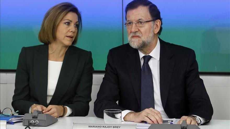 """Cospedal define el discurso de Rajoy como """"realista e ilusionante"""""""