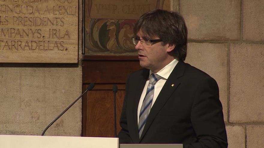 """Puigdemont defiende a la alcaldesa de Berga ante la """"persecución por sus ideas"""""""