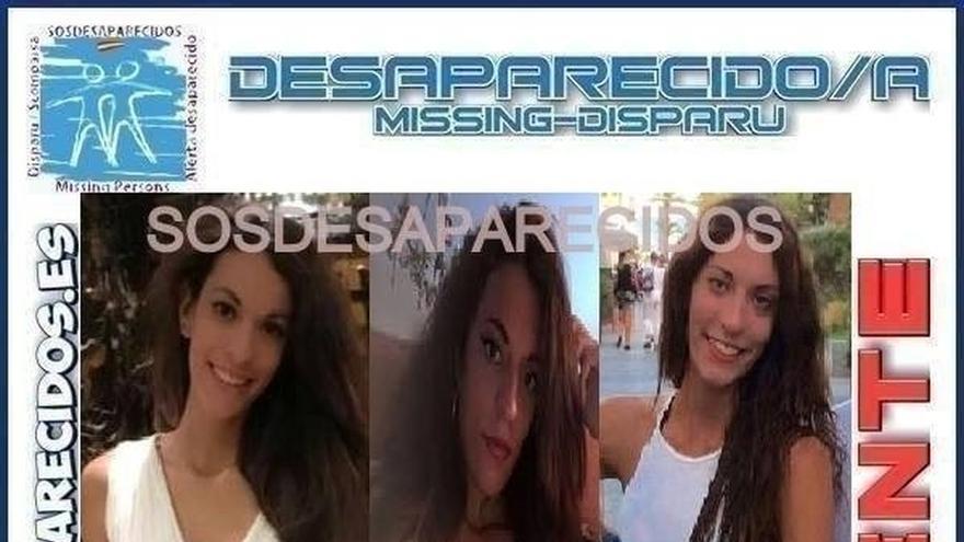 Diana Quer en el cartel de su búsqueda