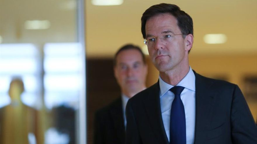 Rutte dice que un referendo sobre la UE iría contra los intereses de Holanda