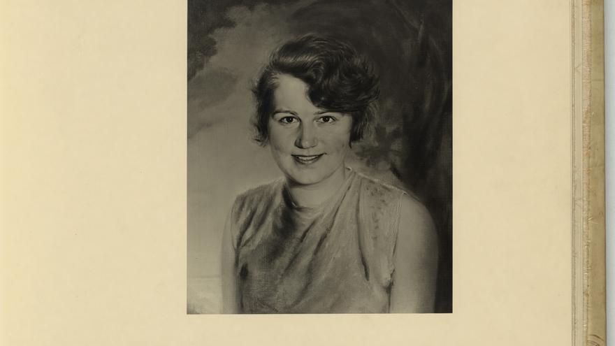 Fotografía cedida por la editorial Alfaguara de Geli Raubal, sobrina de Hitler.