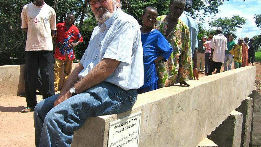 Juan Manuel Eguigaray, en Kolda (Senegal). /Foto cedida por la ONG Alianza por la Solidaridad