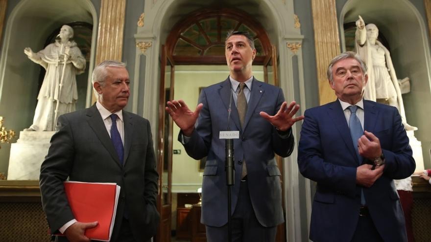 """Albiol pide a Iceta unirse al lado constitucionalista y no caer en un """"populismo de extrema izquierda"""" con ERC y Podemos"""
