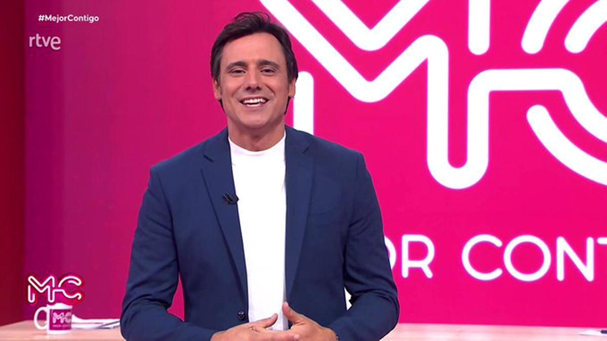 Ion Aramendi, en el estreno de 'Mejor contigo'