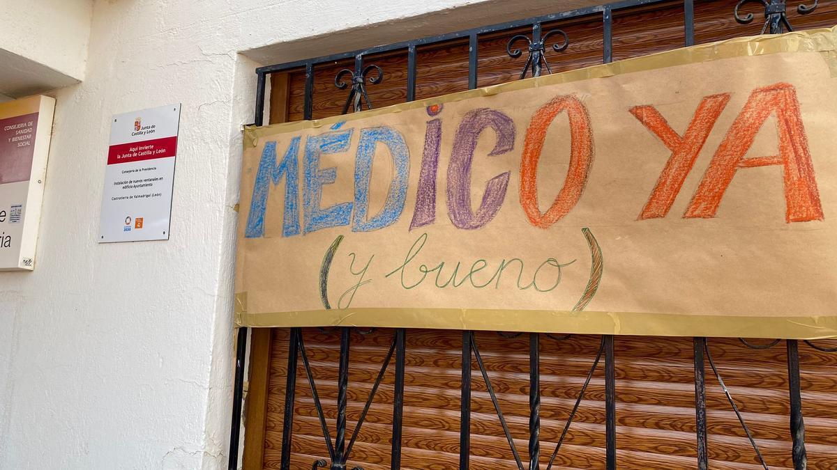 Los vecinos de Castrotierra de Valmadrigal reclaman un médico.
