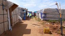 Temporeros inmigrantes de Huelva piden a Sanidad acceso al agua en las chabolas para evitar el contagio del COVID-19