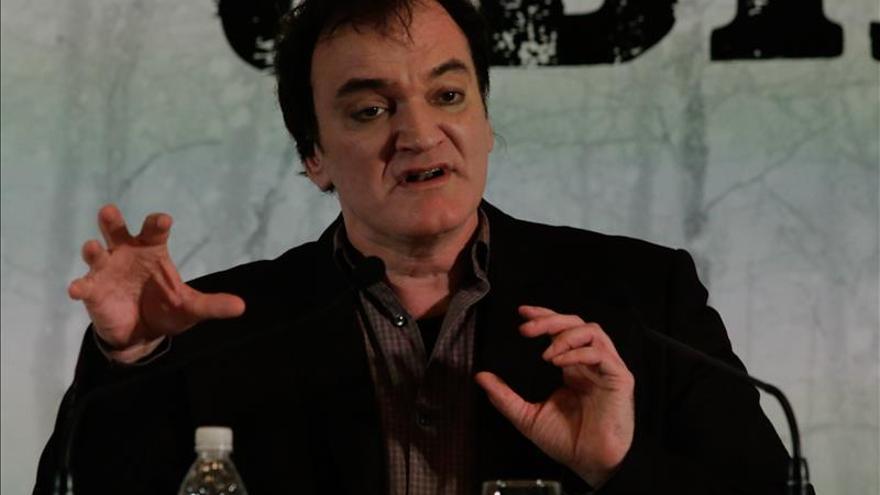 """""""No hago películas para Estados Unidos"""", dice Tarantino"""