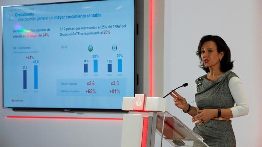Ana Botín gana más de 11 millones en 2018 entre sueldo y pensión, un 4 % más