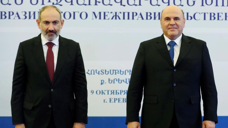 Pashinián dice que Armenia está preparada para reanudar el proceso de paz en Nagorno Karabaj