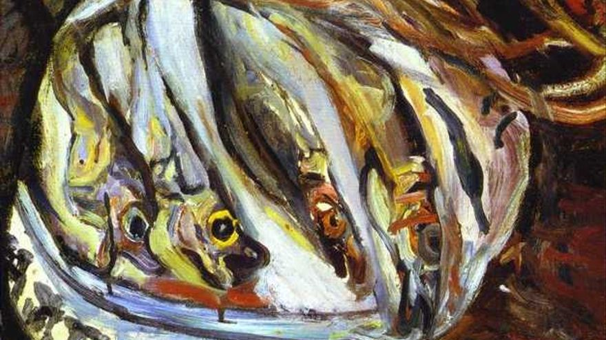 Pescado (1921). | Chaim Soutine