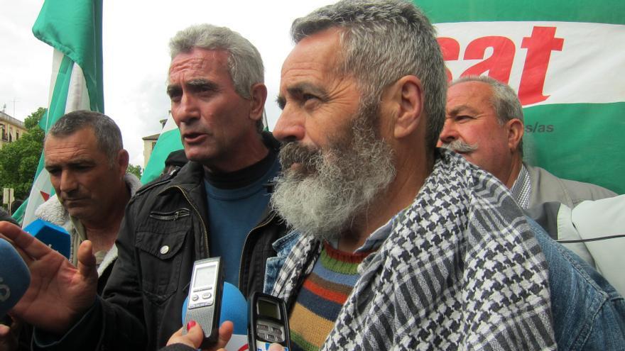 El SAT, con Cañamero y Sánchez Gordillo, prevé reocupar este miércoles la finca de Las Turquillas