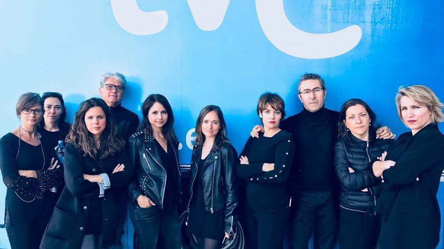 """Los profesionales de RTVE, unidos en el segundo """"viernes negro"""" por el bloqueo del PP a la renovación"""