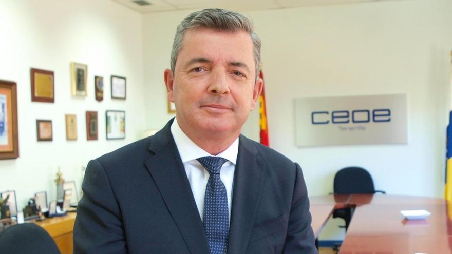 Eduardo Bezares, recién elegido secretario general de la patronal tinerfeña