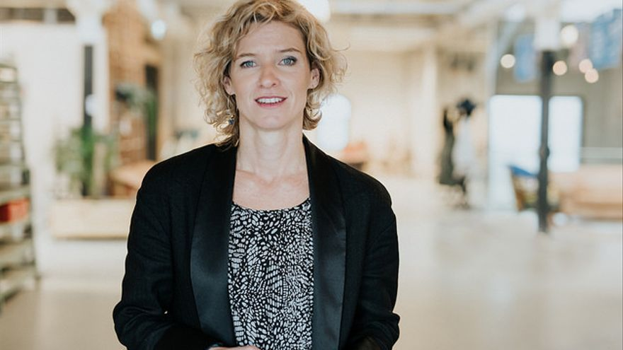 Tessa Wernink, cofundadora de Fairphone. FOTO: Flickr de Fairphone
