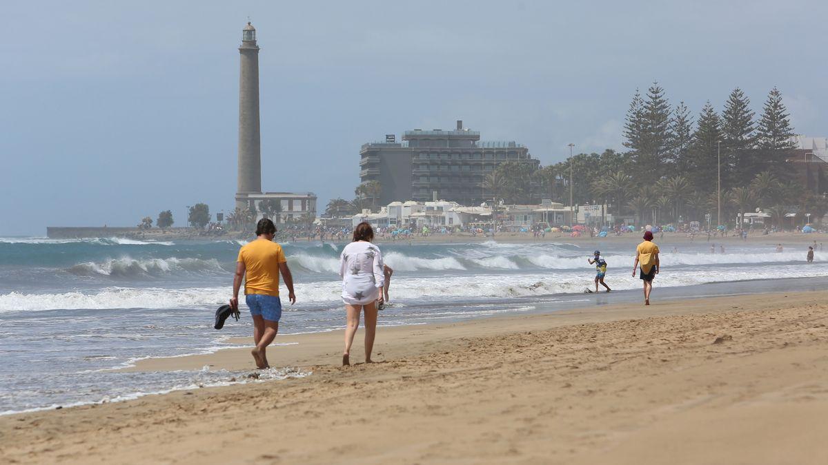 Playa de Maspalomas esta Semana Santa