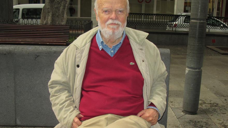 El magistrado emérito José Antonio Martín Pallín se encuentra en La Palma. Foto: LUZ RODRÍGUEZ.
