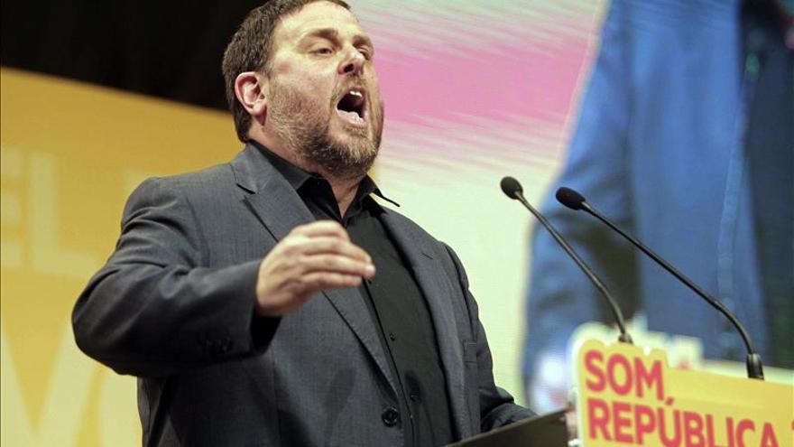 Junqueras afirma que ERC no se dejará engañar por un referéndum imposible