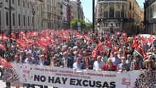 Manifestación en Sevilla /Foto: CCOO Andalucía